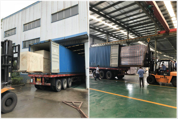 delivery of water filling equipment ordered